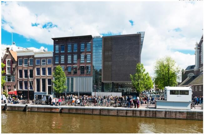 Anne Frank House is one of Amsterdam's most famous attractions