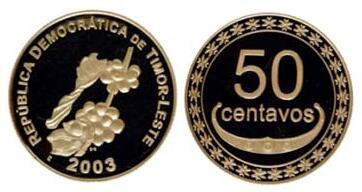 Centavos - East Timor's coins