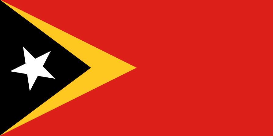Flag of Timor Leste