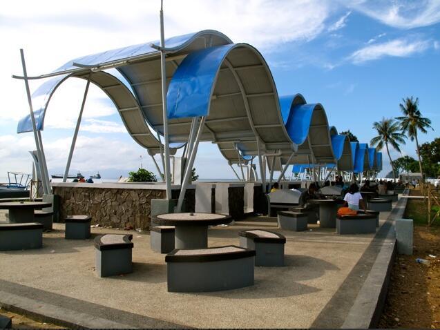 Free WiFi access in the park Lago de Lecidere Timor-Leste