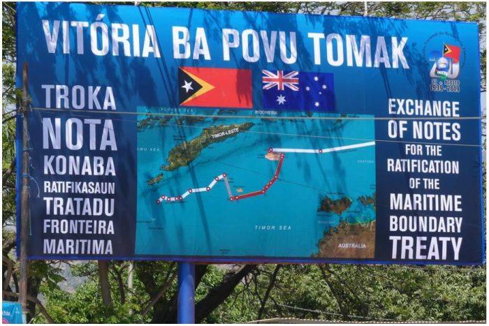 Timor-Leste won the dispute with Australia over the sea border